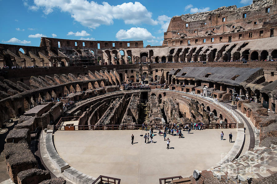 Italy Photograph - Arena Of Death And Glory by Brenda Kean
