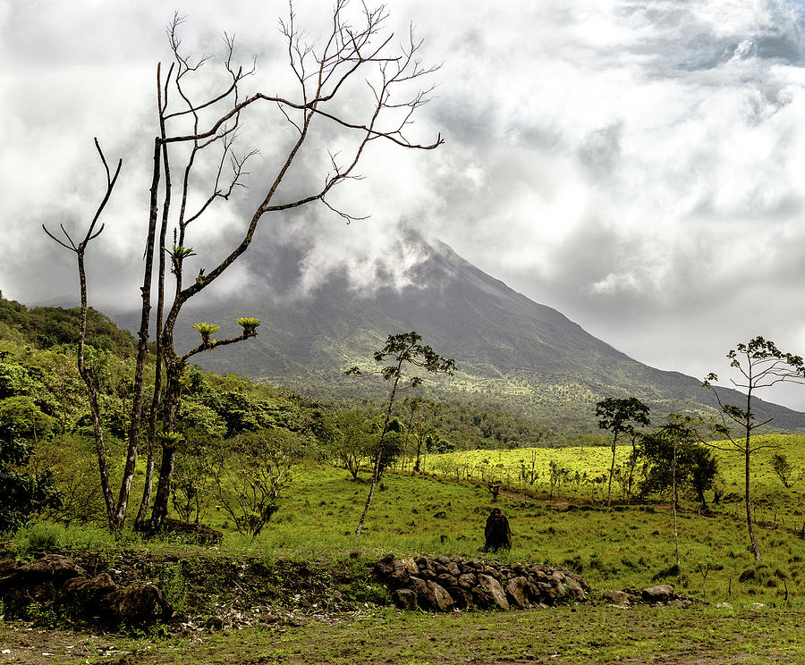 Arenal Volcano, Costa Rica by Pete Hendley