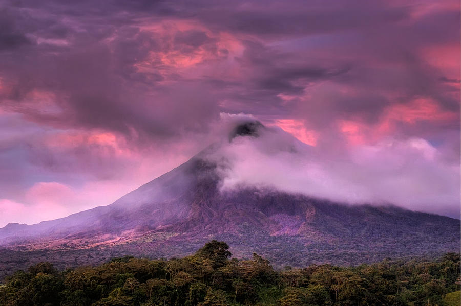 Arenal Volcano Photograph - Arenal Volcano by Dolly Sanchez