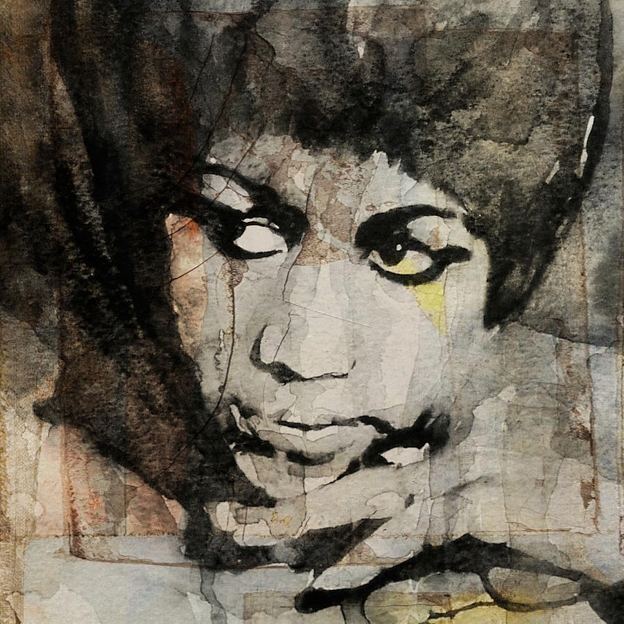Aretha Franklin Painting - Aretha Franklin - Dont Play That Song For Me  by Paul Lovering