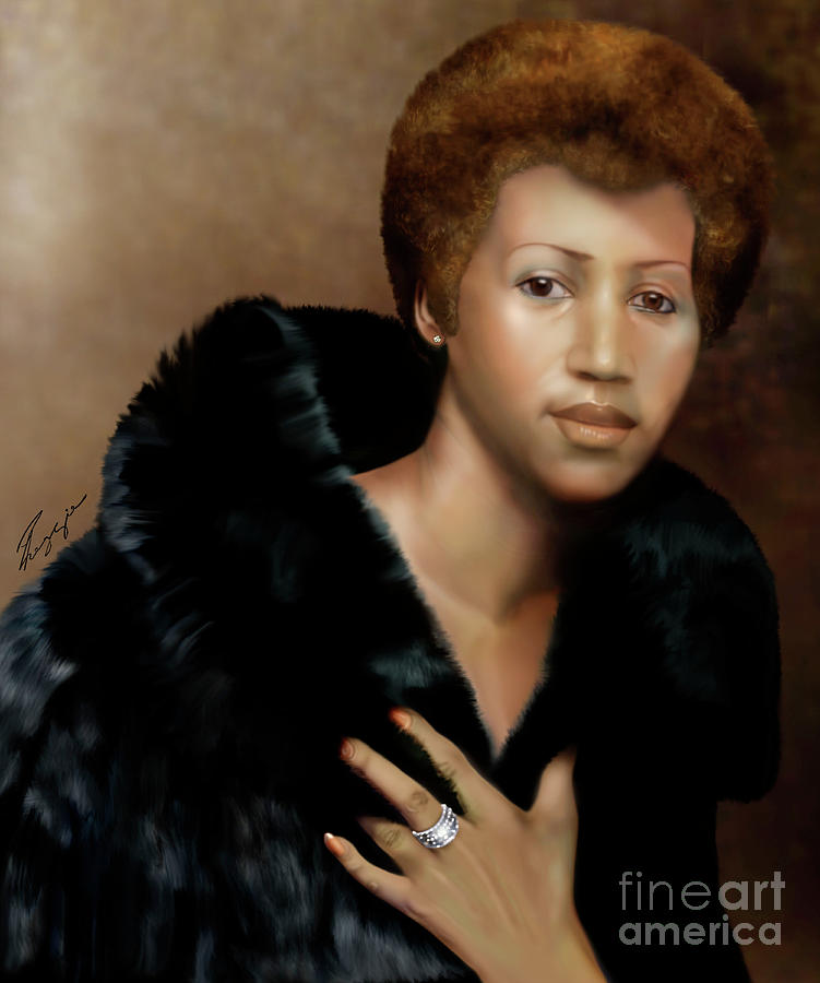 Aretha Franklin Once Upon A Queen by Reggie Duffie