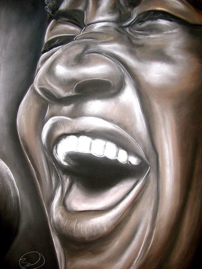 Aretha Drawing - Aretha Franklin by Zach Zwagil