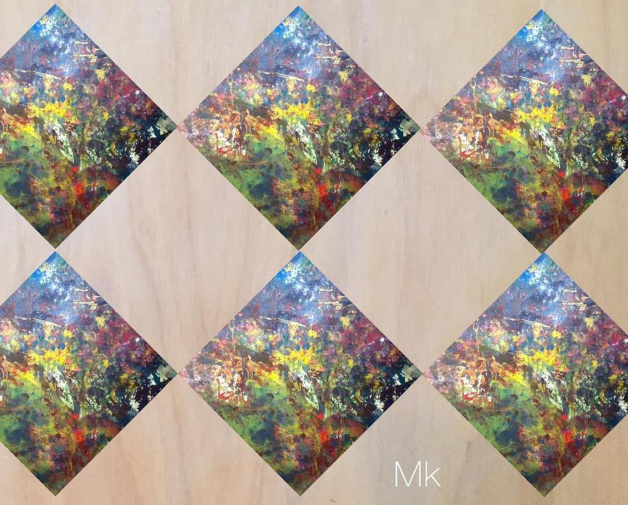 Pattern Digital Art - Argile by Mary Jo Hopton