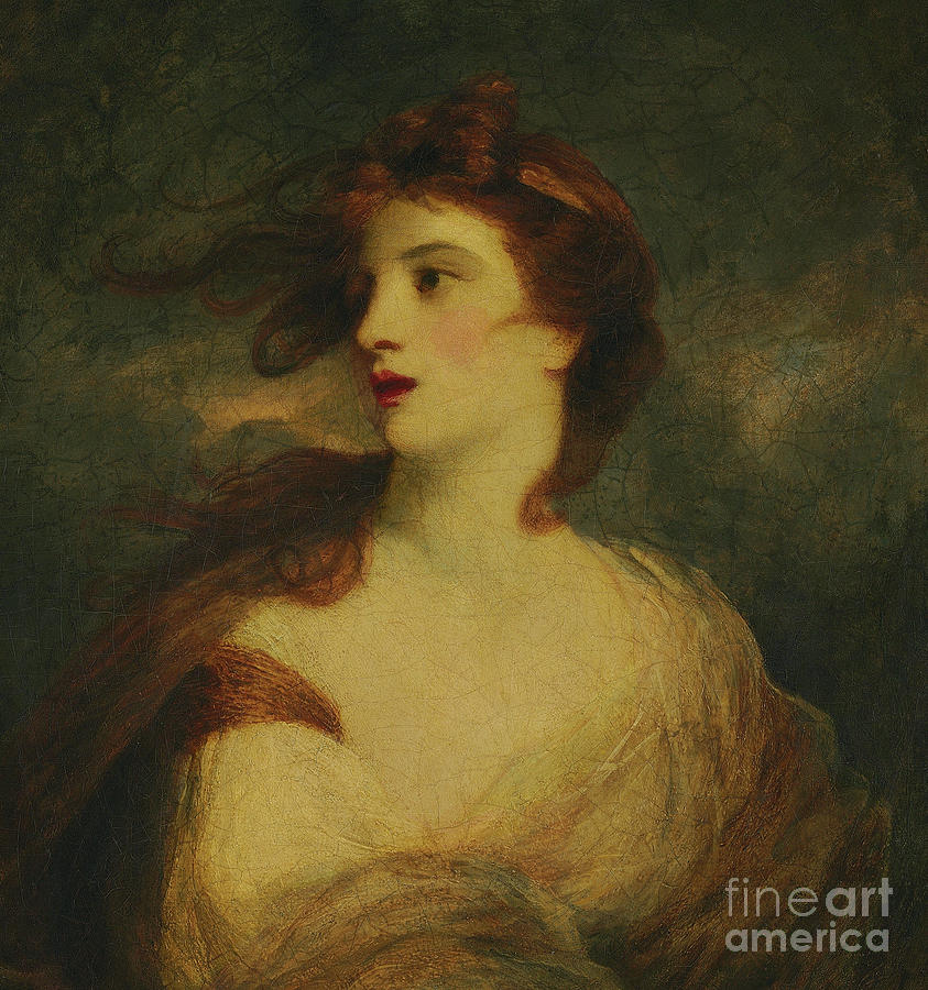 Ariadne By Joshua Reynolds Painting By Joshua Reynolds