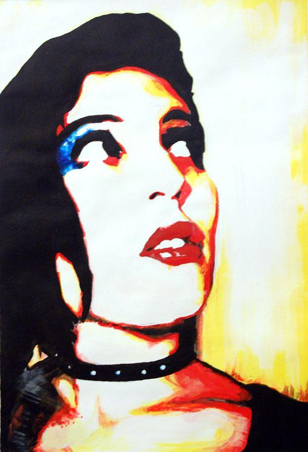Portrait Painting - Arianna by Francesco Falcolini