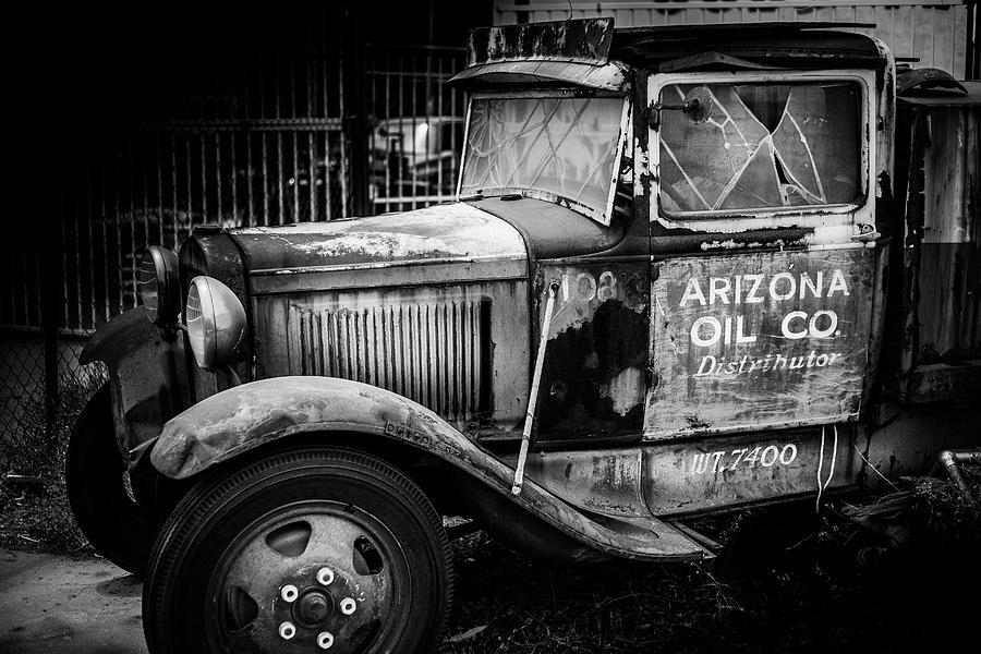 Sonoran Desert Photograph - Arizona Oil company by Tony Nardecchia