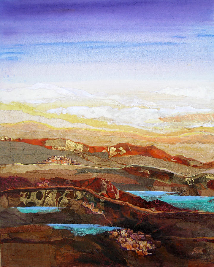 Mixed Media Painting - Arizona Reflections Number Two by Don Trout