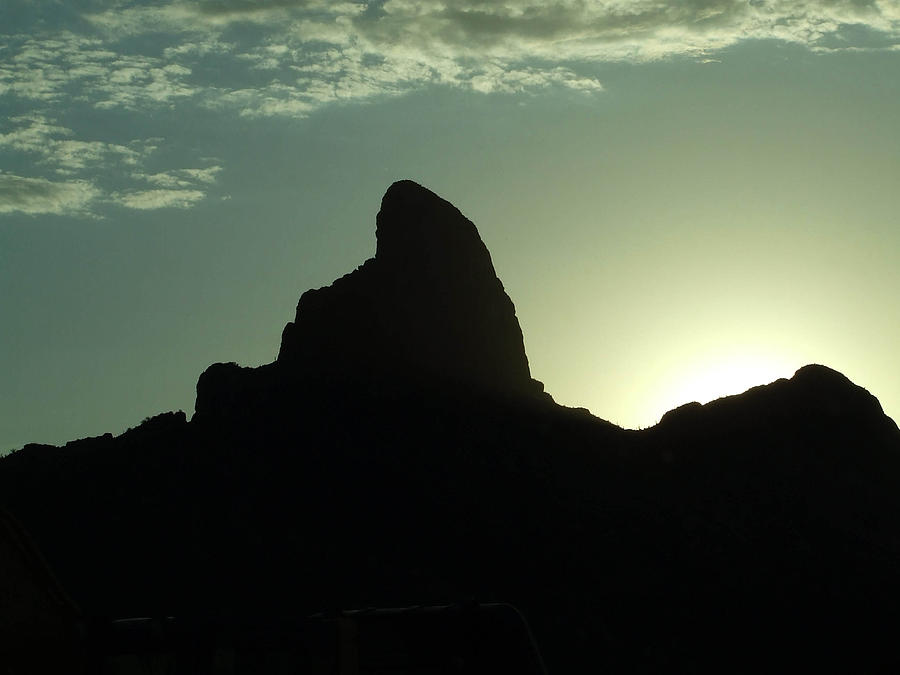 Arizona Photograph - Arizona Silhouette by Gabrielle Pierce