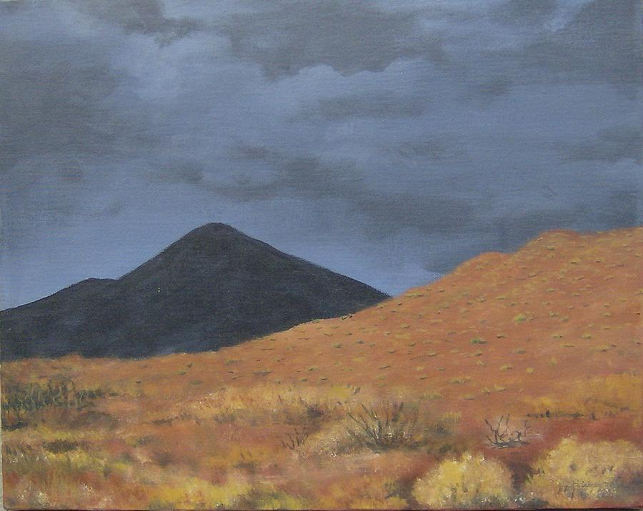 Landscape Painting - Arizona Storm by Jim Kleiner II