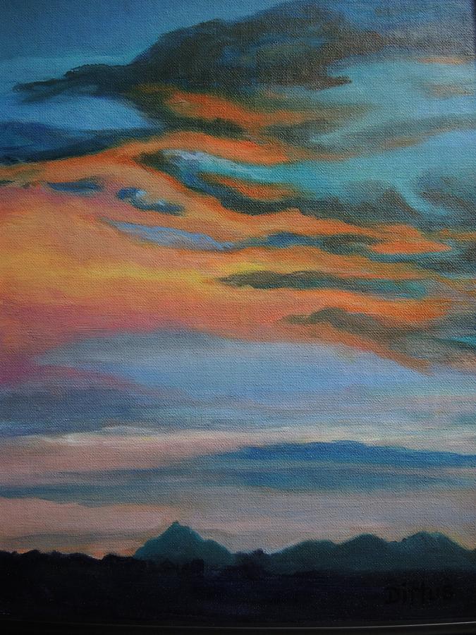 Arizona Sunset by Chrissey Dittus
