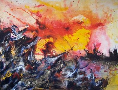 Arjuna Painting - Arjuna 2 by Moray Watson