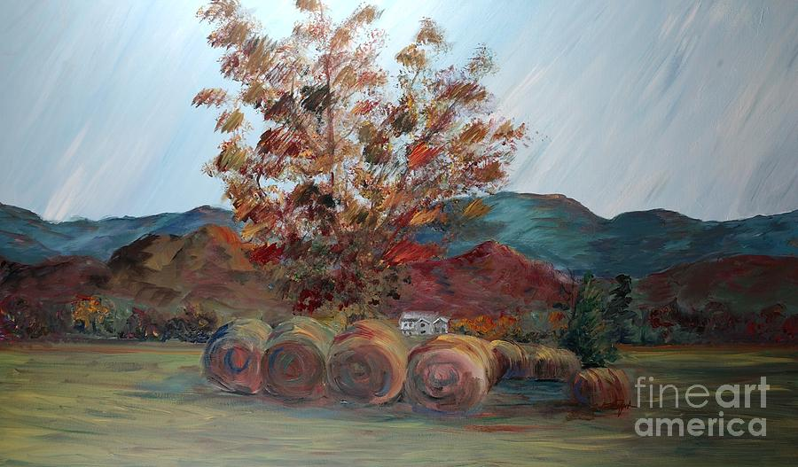 Autumn Painting - Arkansas Autumn by Nadine Rippelmeyer