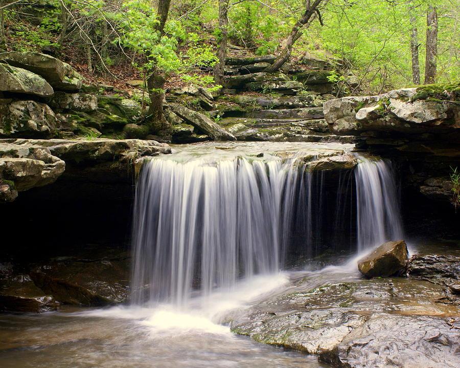 Waterfall Photograph - Arkansas Beauty by Marty Koch