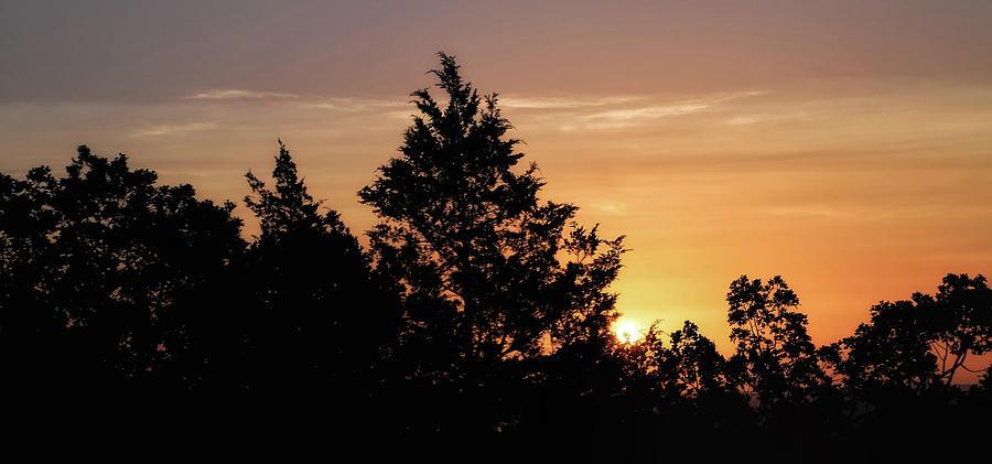 Arkansas Sunrise by ELAINE MALOTT