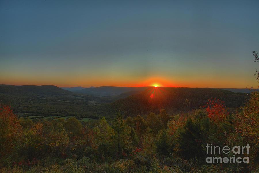 Sunrise Photograph - Arkansas Sunrise by Kevin Kuchler