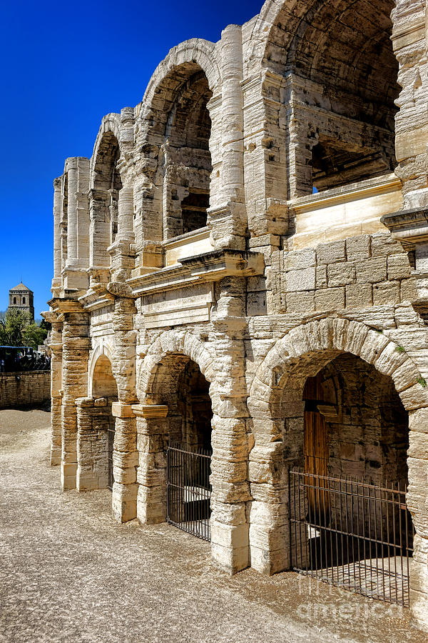 Arles Photograph - Arles Roman Amphitheater by Olivier Le Queinec