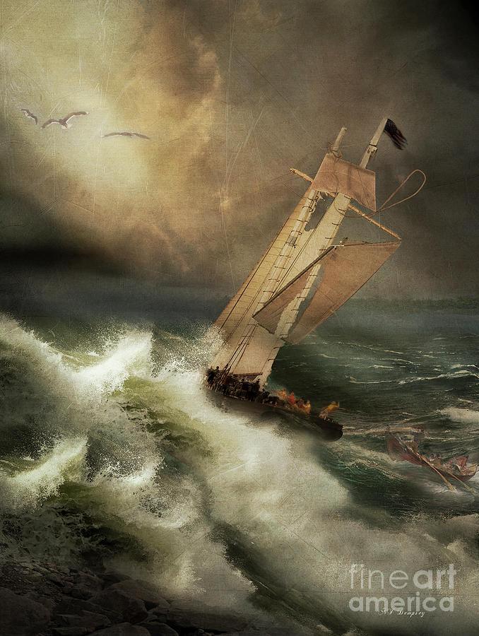 Storm Photograph - Armageddon by Nancy Dempsey