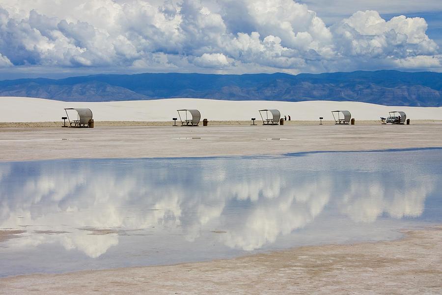 New Mexico Photograph - Armageddon Picnic by Skip Hunt