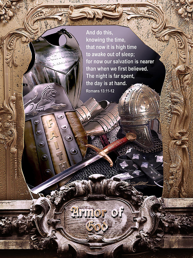 Armor of God Painting by Danny Hahlbohm