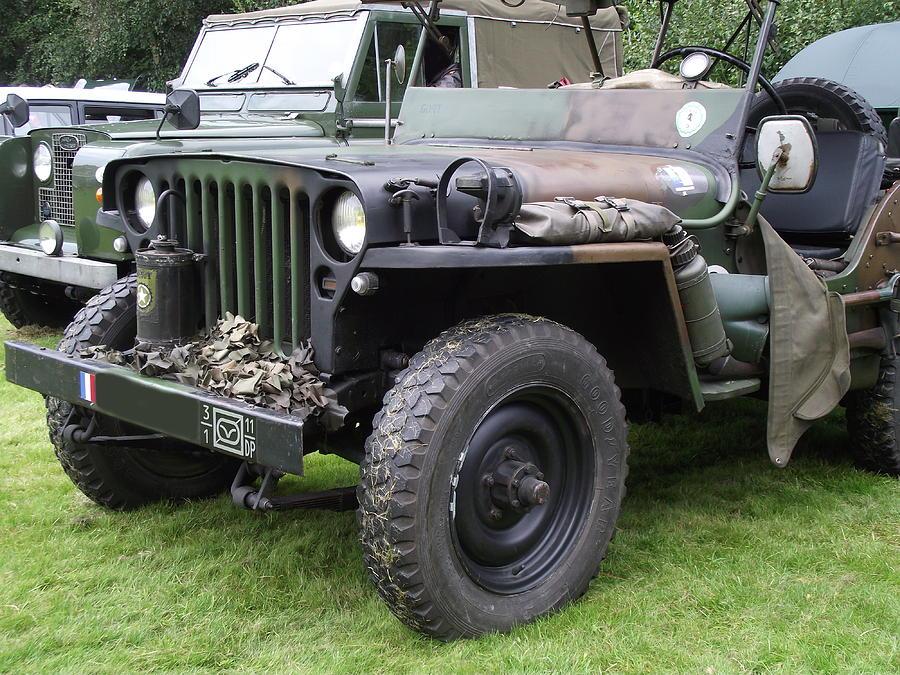 American Photograph - Army Jeep U.s.a. by Dawn Hay