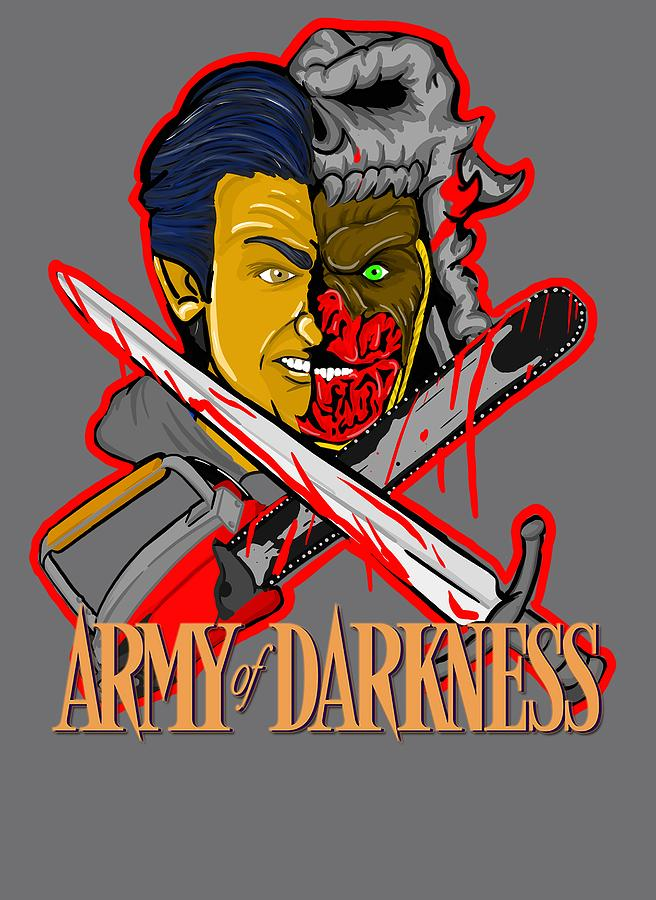 Horror Painting - Army Of Darkness Ash by Gary Niles