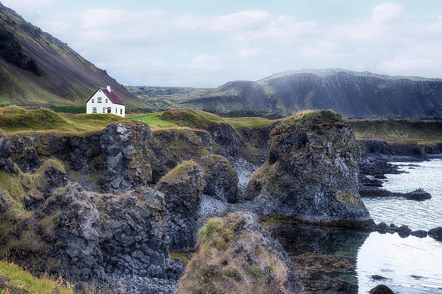 Hellnar Photograph - Arnastapi - Iceland by Joana Kruse