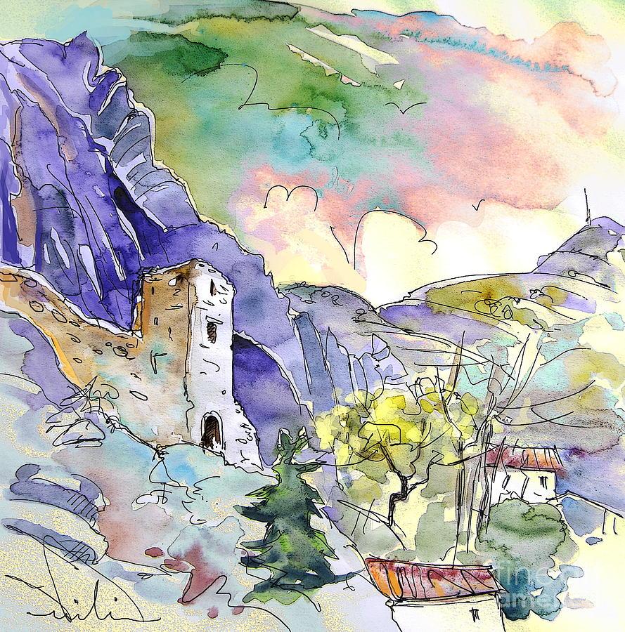La Rioja Painting - Arnedillo In La Rioja Spain 03 by Miki De Goodaboom
