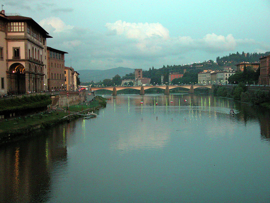 Florence Photograph - Arno River, Florence, Italy by Mark Czerniec