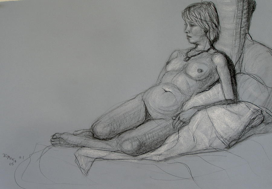Realism Drawing - Aroona 2 by Donelli  DiMaria