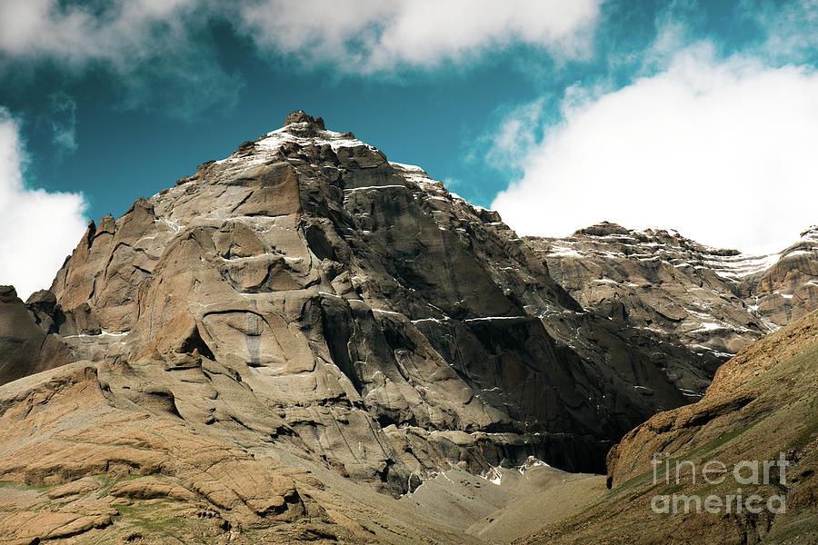 Tibet Photograph - Around Holy Kailas Himalayas Tibet Yantra.lv by Raimond Klavins