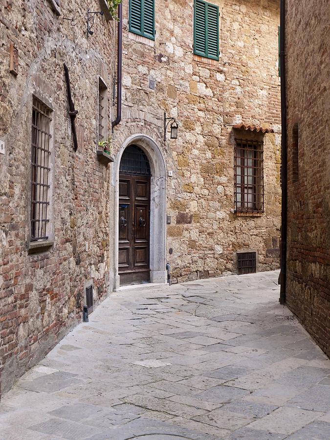 Montepulciano Photograph - Around The Corner by Rae Tucker