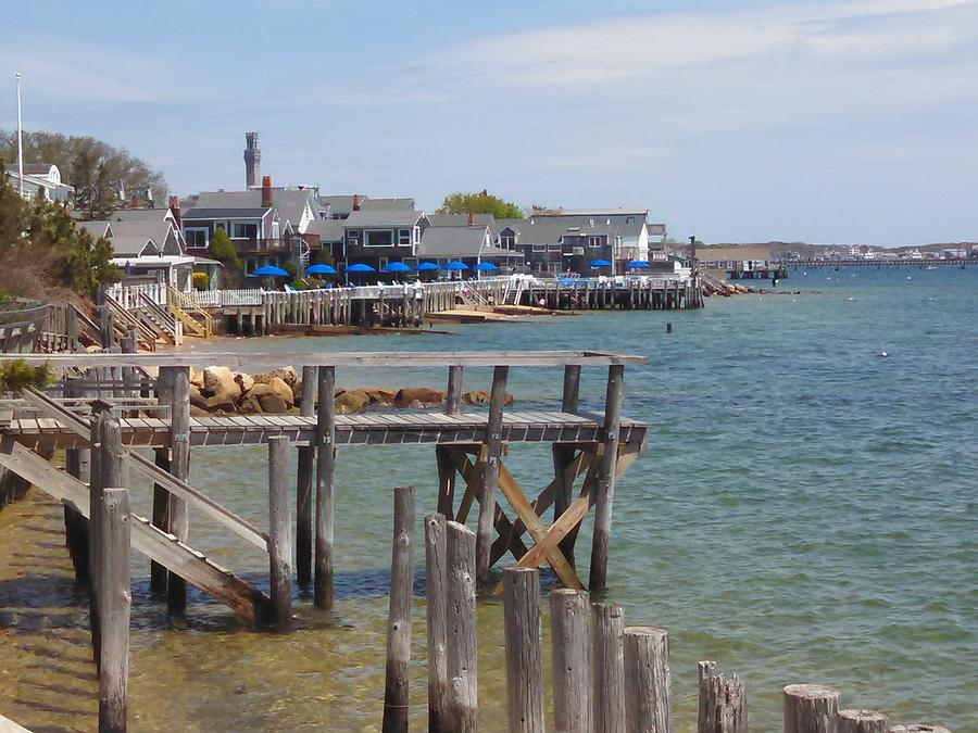 Provincetown Photograph - Around The Pier by Michael Tieman