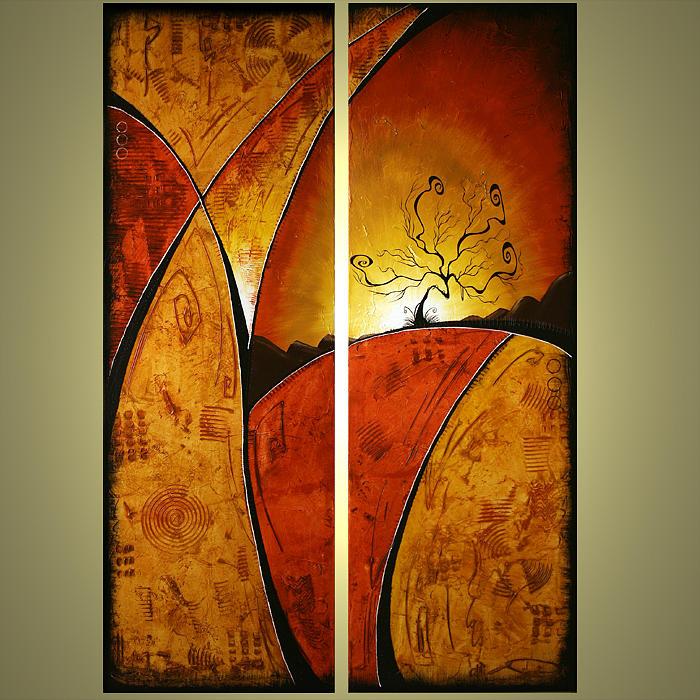 Abstract Painting - Around The World by Jacob Pazera