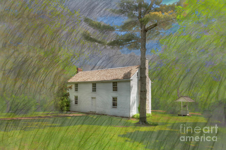 Hdr Photograph - Academy Boarding House by Larry Braun
