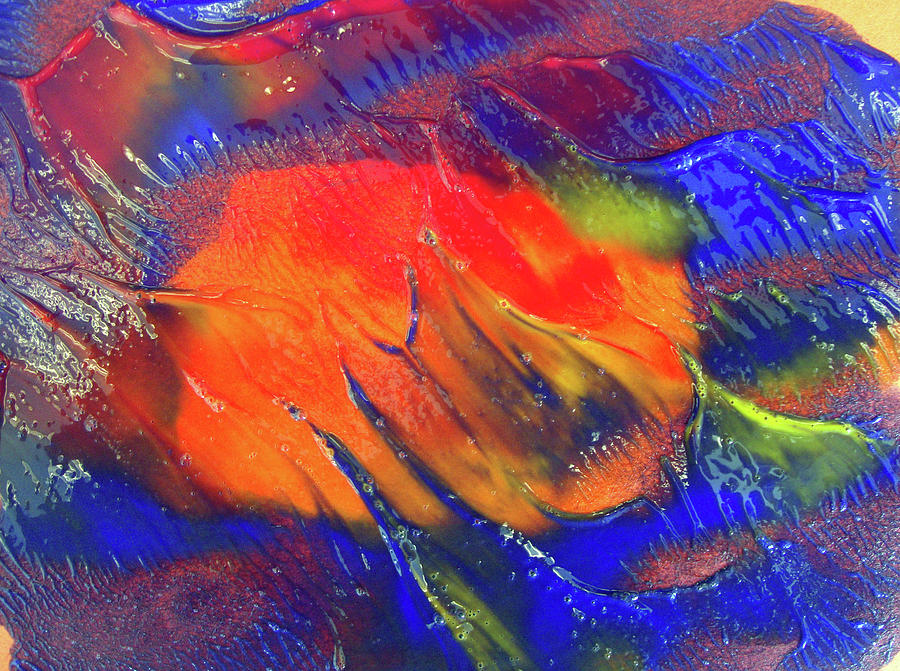 Colors Painting - Art 0a by Leigh Odom