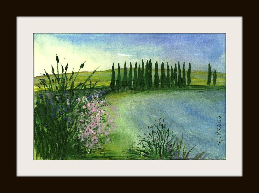 Watercolor Painting - Art. 10 - Original Painting by Angela Boerio