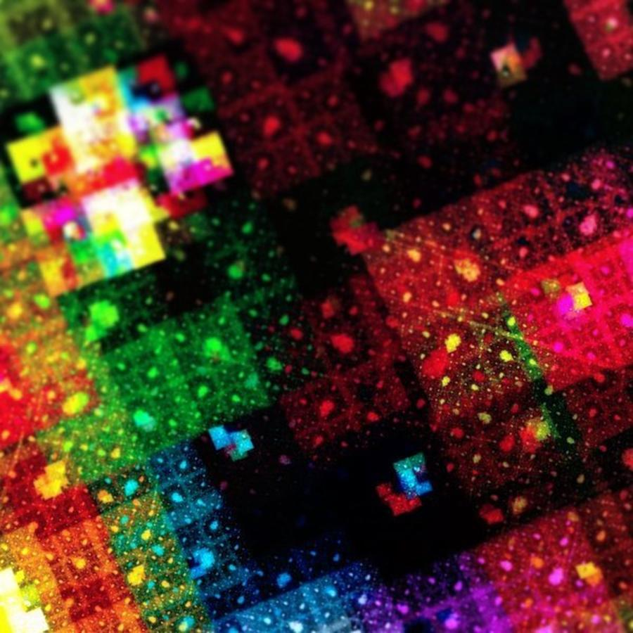 Digitalart Photograph - #art #abstract #digitalart #fractals by Michal Dunaj