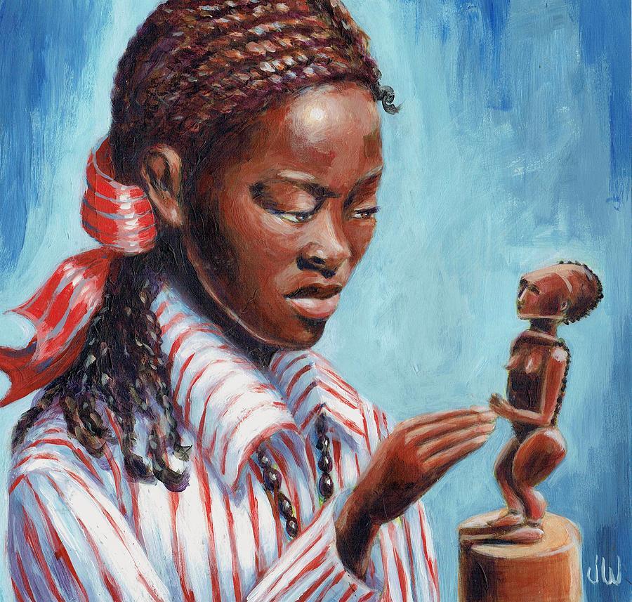 Art appreciation class by June Walker