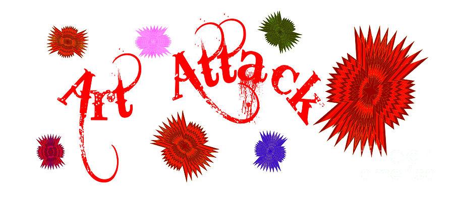 Art Attack  by Marianne NANA Betts