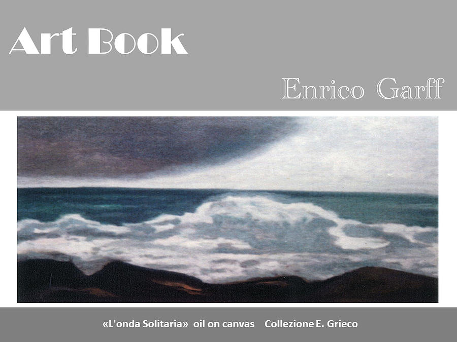 Sea Wave Painting - Art Book by Enrico Garff