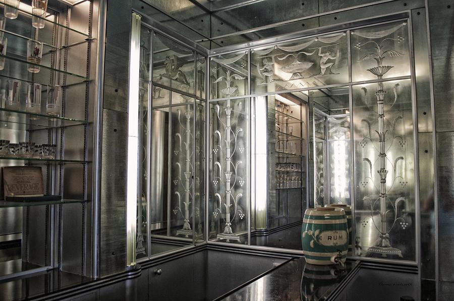 Vintage Mixed Media - Art Deco Bar by Thomas Woolworth