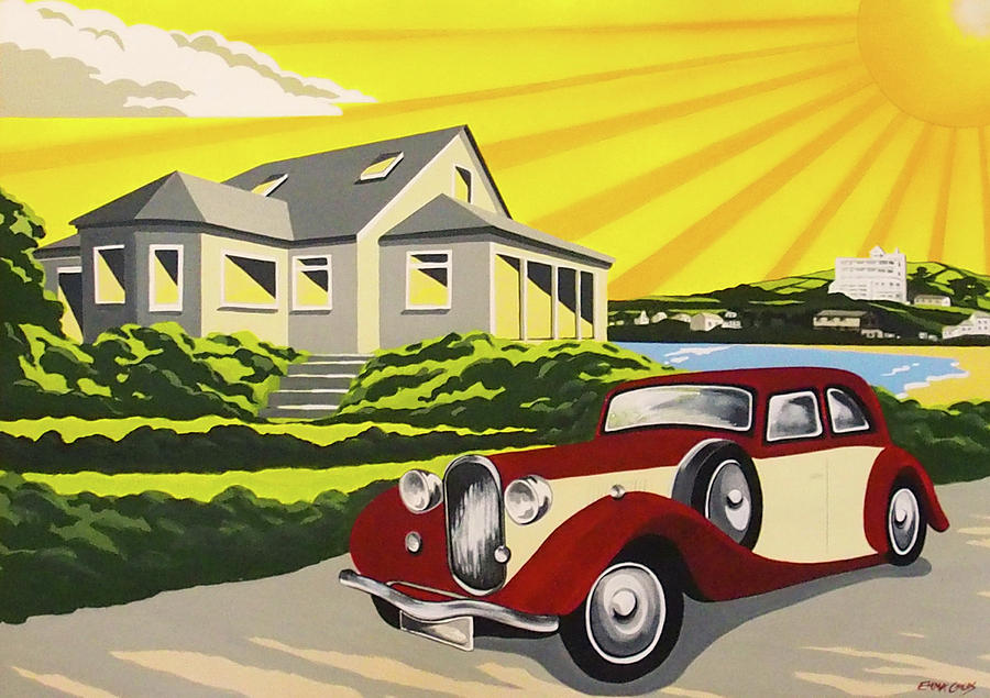 Art Deco Burgh Island Painting