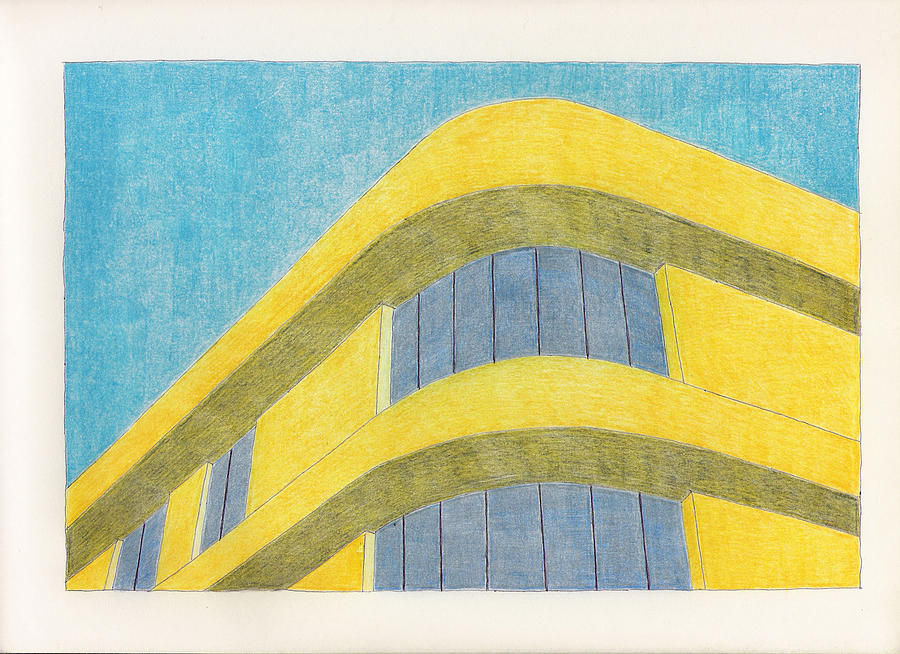 Architecture Drawing - Art Deco by Eric Forster