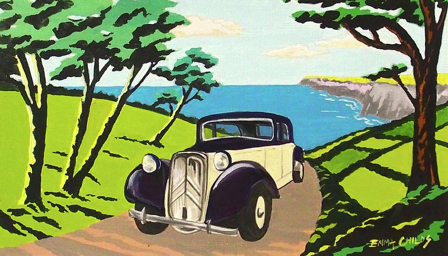Art Deco In Devon Painting