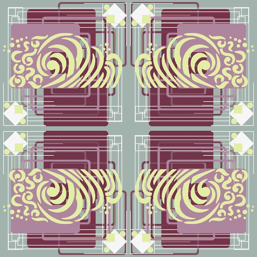 Art Deco Digital Art