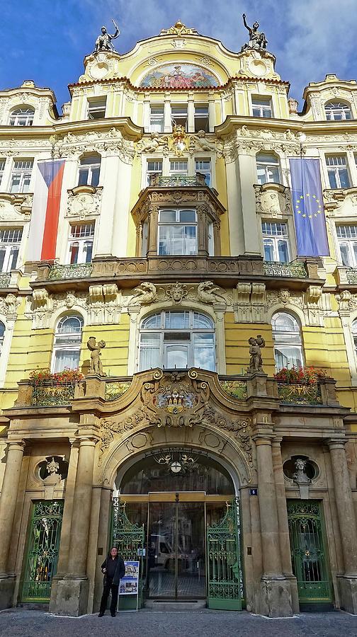 Art Nouveau Architecture In Prague