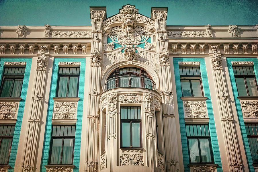 Art Nouveau Painting City