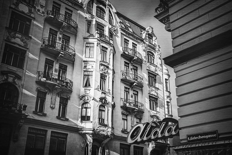 Vienna photograph art nouveau vienna in black and white by carol japp