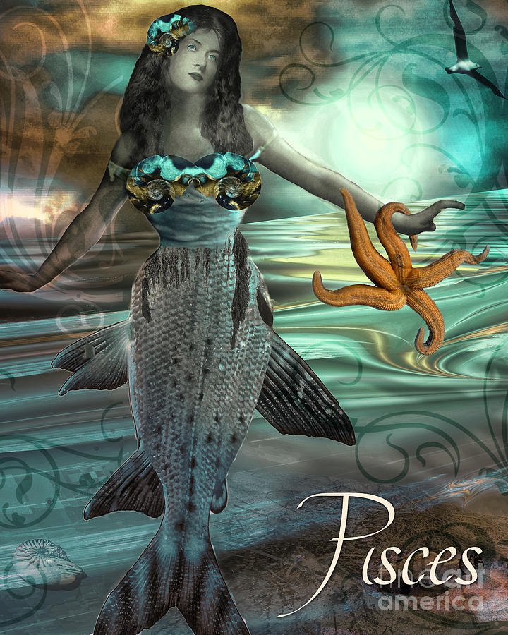 Pisces The Fish Painting
