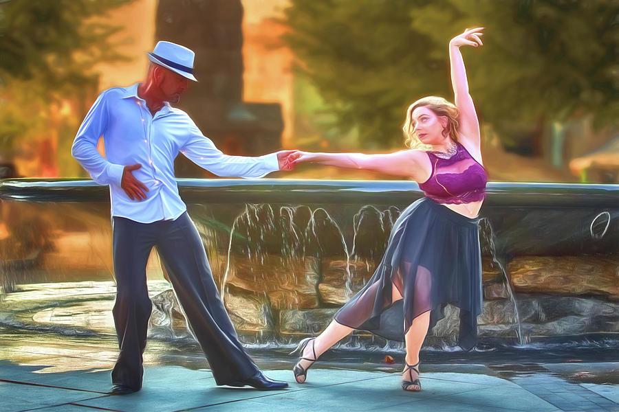 Dance Photograph - Art Of The Dance by John Haldane